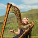Image of Shelley at harp