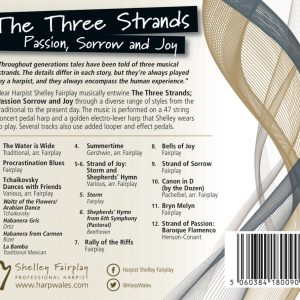 Three Strands CD Back Cover