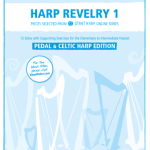 Harp Revelry 1 for Pedal and Lever Harp cover