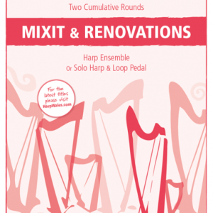 Mixit and Renovations sheet music cover.